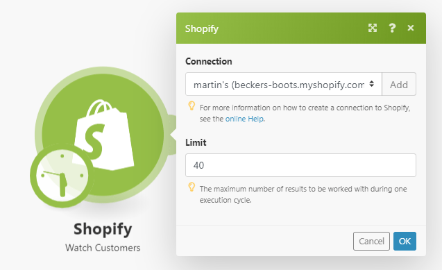 connect-shopify-to-integromat-screen