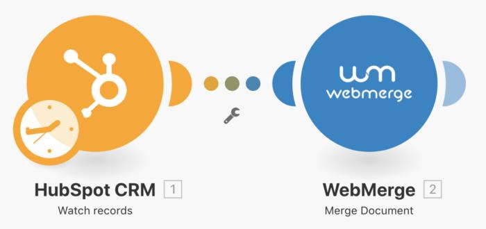 hubspot-crm-web-merge-integration-integromat-11