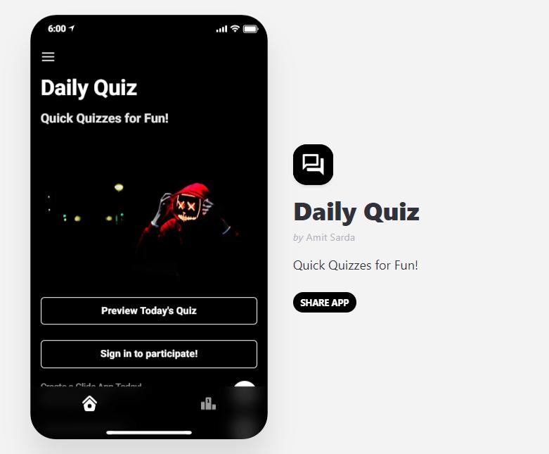 quiz-app-glide