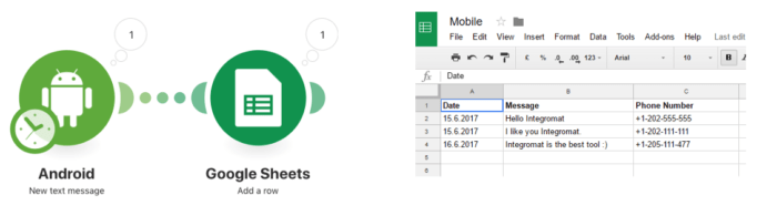 android-google-sheets-automation-integromat-11