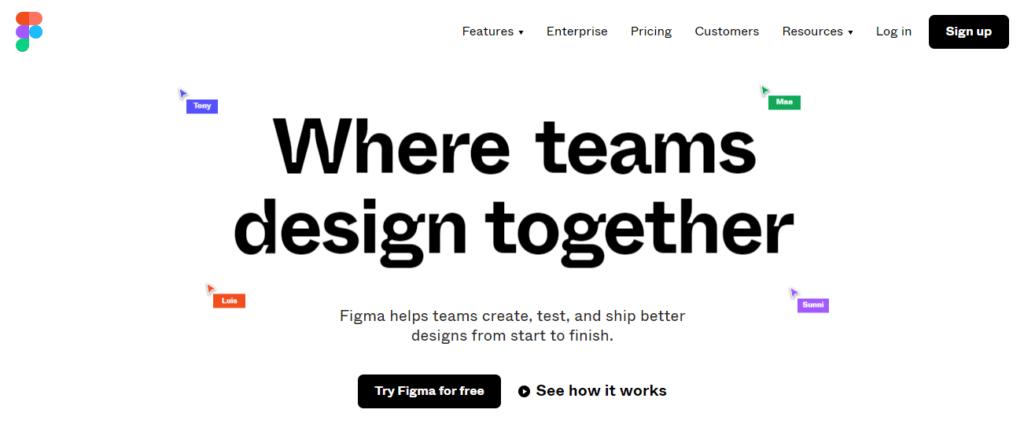 figma-wireframing-tool-website-screenshot