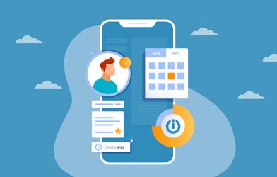 Integromat automation mobile app.
