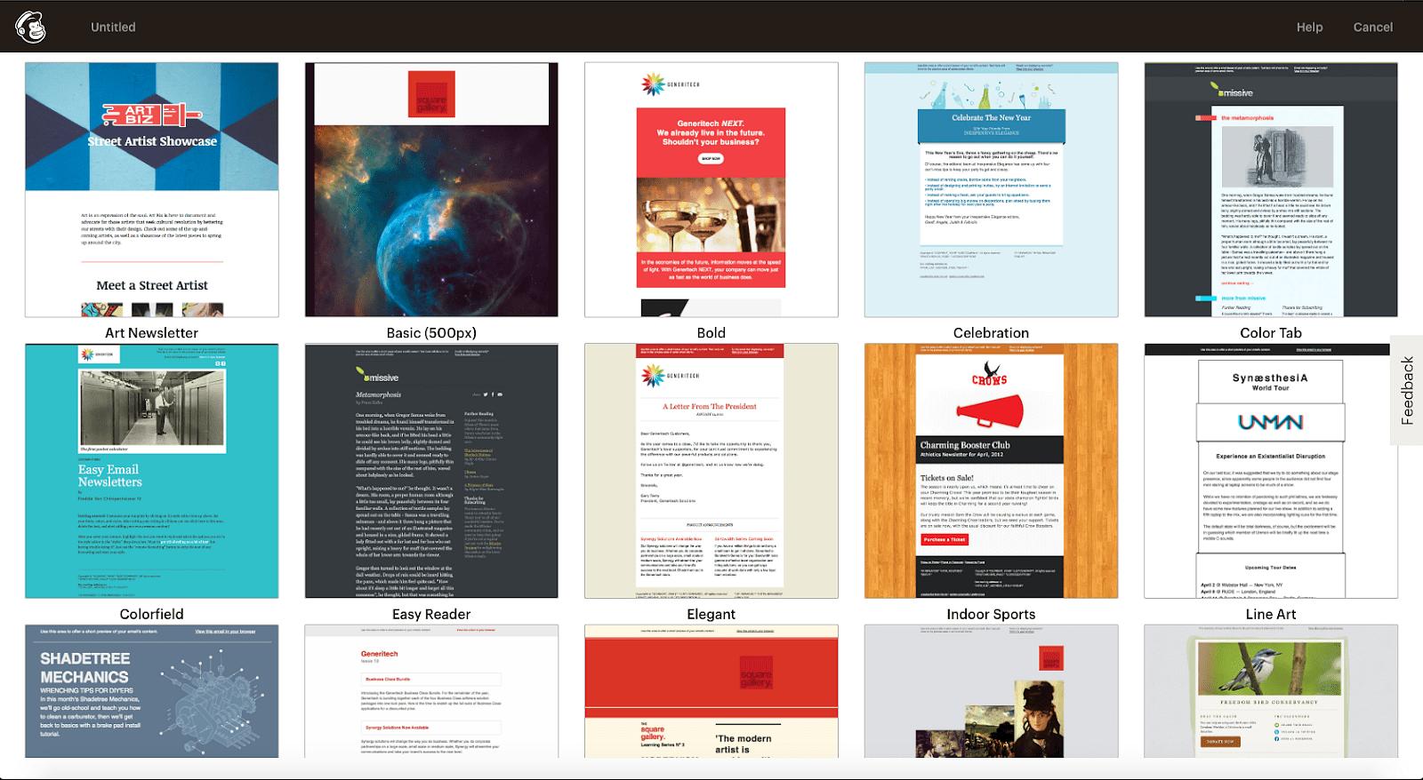 sendx-mailchimp-templates-library