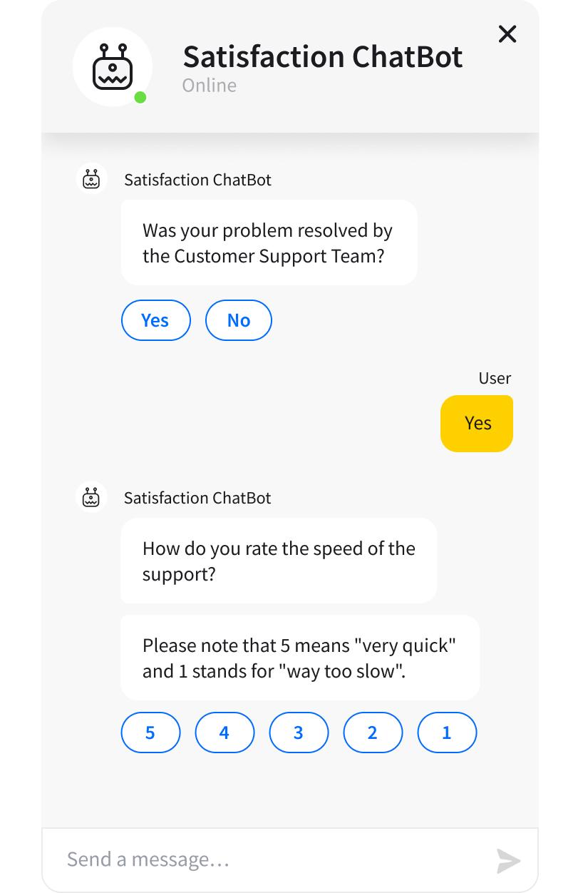 chatbot-satisfaction-survey-rating