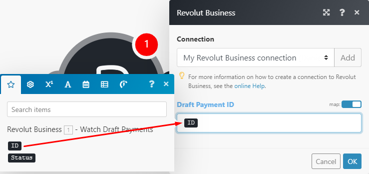 get-a-draft-payment-module-mapping