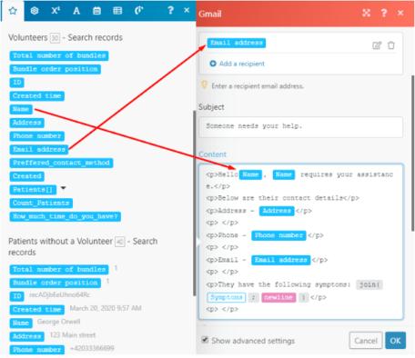 Integromat Gmail module configuration