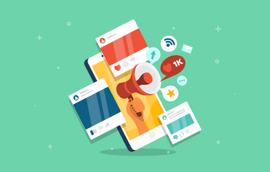 Social media apps and notifications