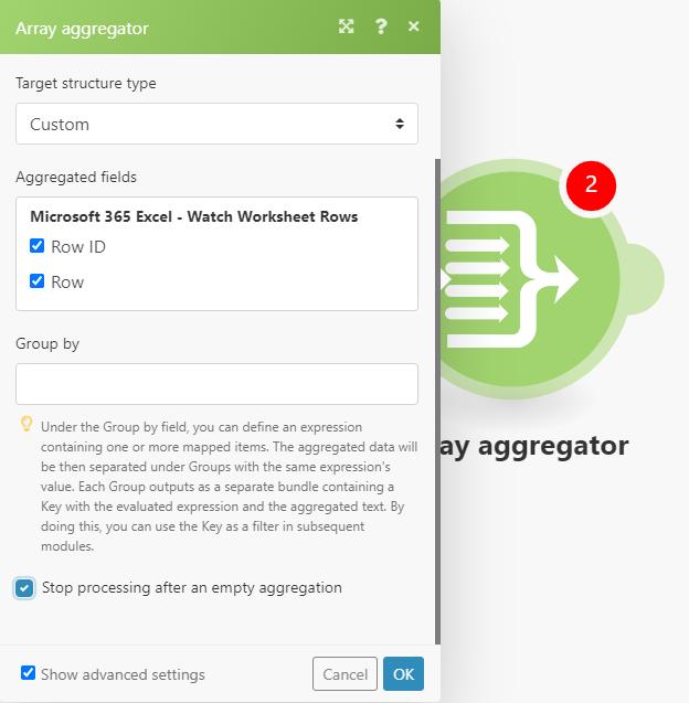 konfiguracja agregatora tablic
