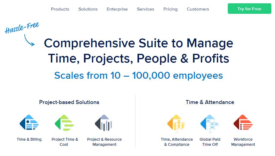 replicon-website-screenshot