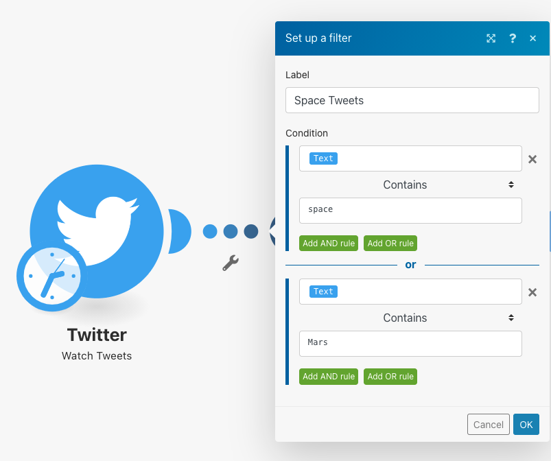 filter-space-tweets