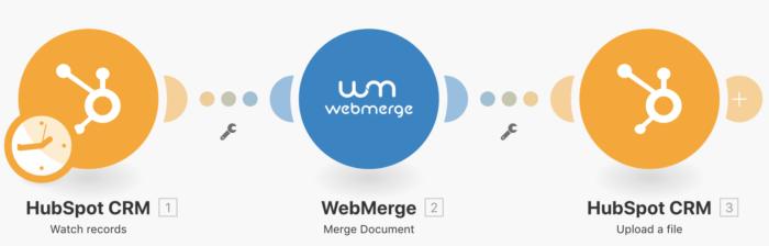 hubspot-crm-web-merge-integration-integromat-22