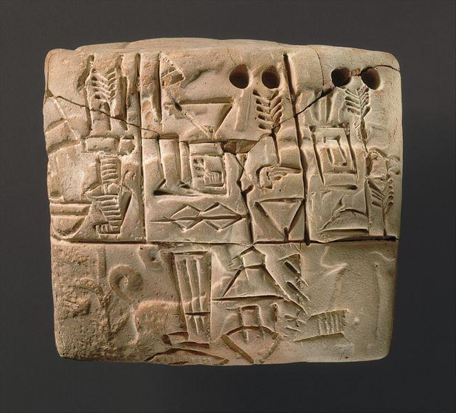 early-cuneiform-writing