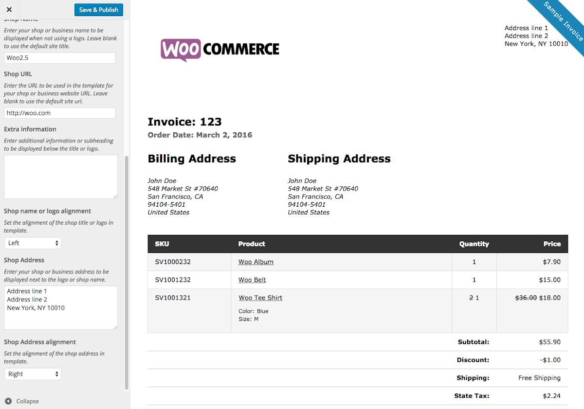 woocommerce-invoice-example
