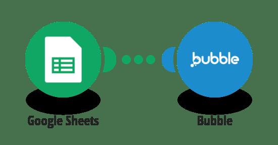 Google Sheets and Bubble integration