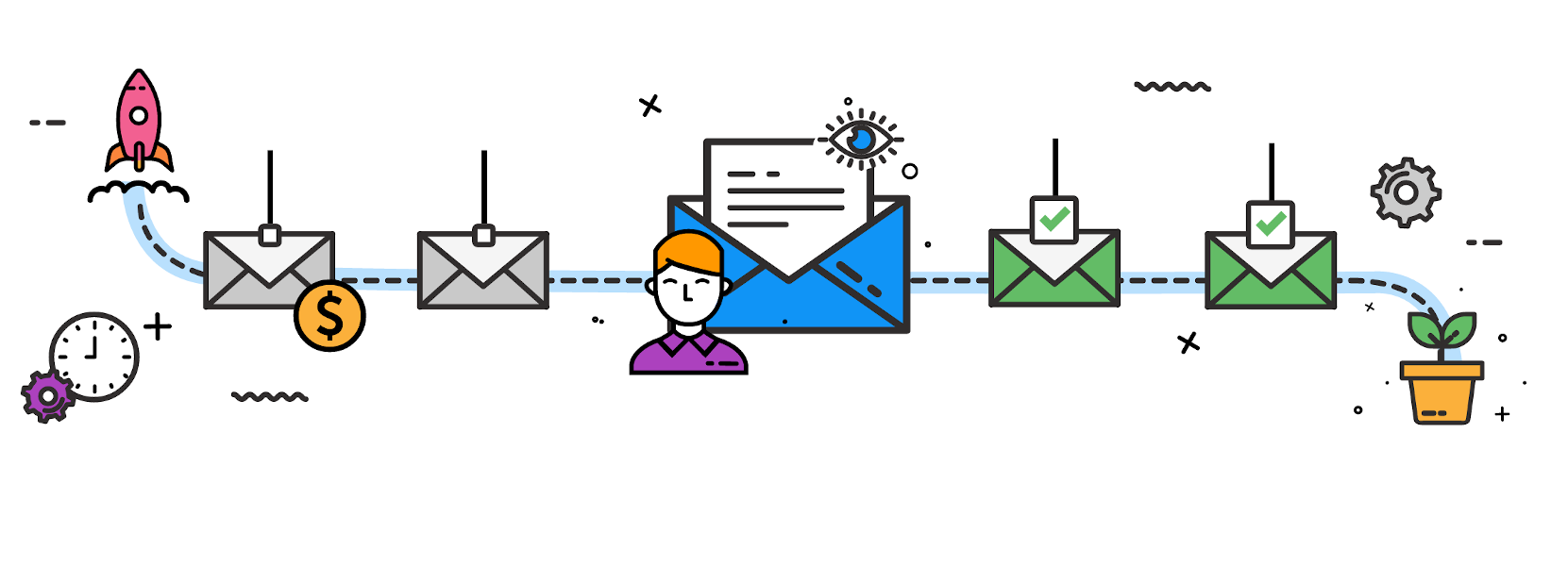 email-drip-campaign-illustration