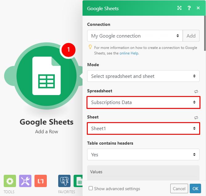 konfiguracja-modułów-google-arkuszy
